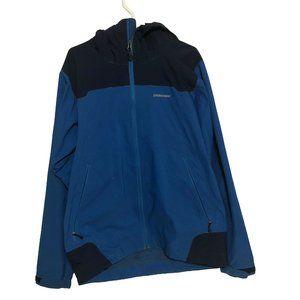 Patagonia Hommes Hoodie Jacket Dual Pocket Size L